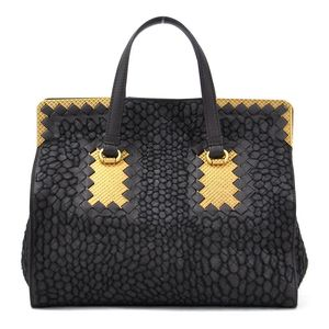 Bottega Veneta Handbag Intrecciato Brown Leather BOTTEGA VENETA Ladies 97890a