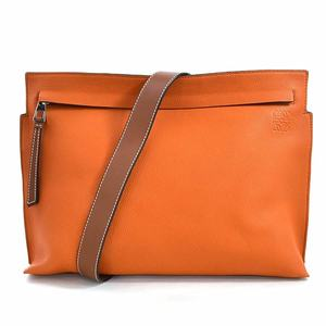 Loewe T MESSENGER BAG Orange Leather LOEWE Men 316.12TP37 97853e