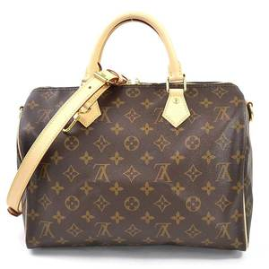 Louis Vuitton Handbag Shoulder Bag Monogram Speedy Bandolier 30 Brown Canvas Ladies M41112 97937
