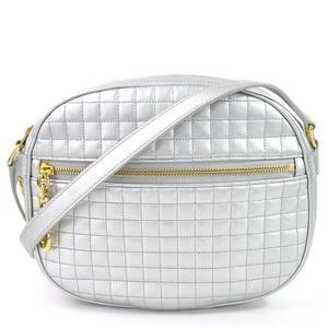 Celine CAMERA BAG C Charm Silver Leather CELINE Ladies 97986c