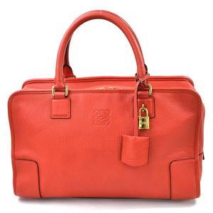 Loewe Handbag Anagram Amazona 36 Red Leather LOEWE Ladies 352.45.A22 97952c