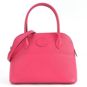 Hermes Handbag Shoulder Bag Bored 27 Rose Extreme (Pink) Vow Epson HERMES Ladies 97964a