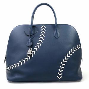 Hermes Handbag Bored Baseball BASEBALL 45 Brude Mart White Evercolor HERMES Women's d97032