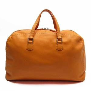 Fendi FENDI handbag celeria orange leather a1716