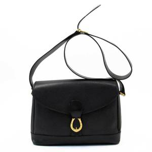 GUCCI BLACK GOLD LEATHER a1743