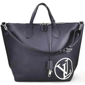 Louis Vuitton handbag shoulder bag LV circle east side zipped tote navy taurillon leather men's M53436 d97139