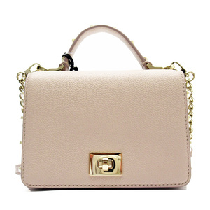 Kate spade kate handbag pink gold leather faux pearl ladies h22123