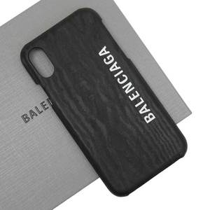 Balenciaga BALENCIAGA iphone s case smartphone black plastic ladies men h23054