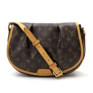 Louis Vuitton LOUIS VUITTON Bag Monogram Menil Montin PM Canvas Shoulder Ladies M40474 v37295