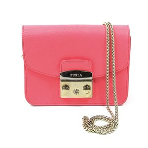 Furla FURLA Metropolis Pink Leather Ladies 2200