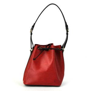 Louis Vuitton Shoulder Bag Epi Puchinoe Bicolor (Red Black) Leather Ladies M44172 1787