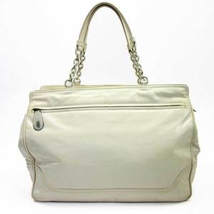 Bottega Veneta Shoulder Bag Intrecciato Ivory Leather Ladies 2722