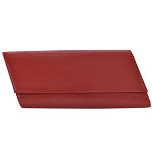Saint Laurent SAINT LAURENT clutch bag red leather second ladies r6267