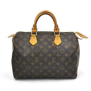Louis Vuitton Handbag Monogram Speedy 30 Brown Canvas Ladies M41526 2179