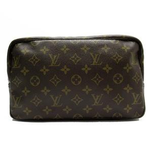 Louis Vuitton Clutch Bag Second Monogram Truest Wallet 27 Canvas Women Men M47522 2940