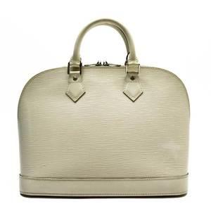 Louis Vuitton LOUIS VUITTON Handbag Epi Alma Ivoire Leather Ladies M4030J 3213a