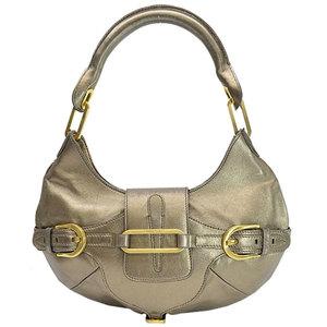 Jimmy Choo JIMMY CHOO bag gold leather shoulder handbag ladies r7800