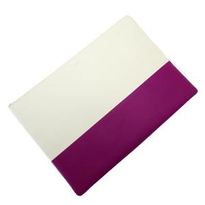 Celine CELINE Clutch Bag White Purple Leather Ladies 3140