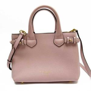 Burberry BURBERRY Handbag Nova Check Leather 3018