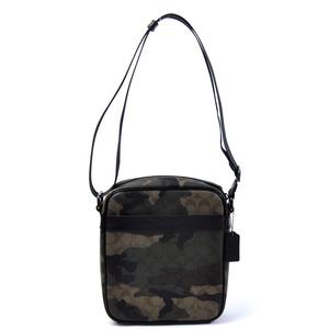 Coach COACH Signature Camouflage pattern (khaki black brown beige) Leather Women Men 2125