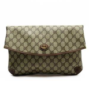 Gucci GUCCI Clutch Bag GG PVC Leather Ladies Men 3116