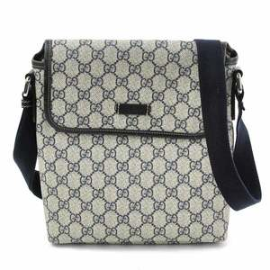 Gucci GG Plus Navy PVC GUCCI Women's Men's 223666 y14249c