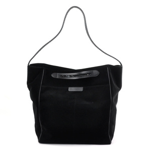 Stella McCartney Shoulder Bag Handbag Black Velvet Women's y14199c
