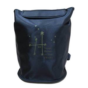 Hermes HERMES Backpack Sherpa Journey around the Stars Exhibition 1999 Limited Navy Nylon Ladies 2801