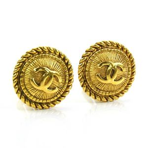 Chanel earrings Coco mark gold CHANEL Ladies y14274b