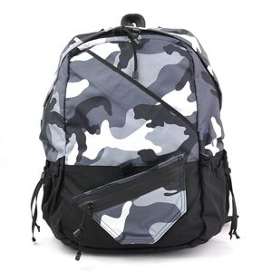 Valentino Garavani Rucksack Backpack Black Canvas Nylon VALENTINO GARAVANI Ladies Men y14197c