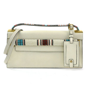 Valentino Garavani Handbag Shoulder Bag Ivory Multicolor Leather Beads VALENTINO GARAVANI Ladies y14191c