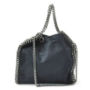 Stella McCartney Handbag Falabella Navy Leather Women's y14145c