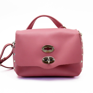 Zanellato handbag pink silver leather ladies 3151f