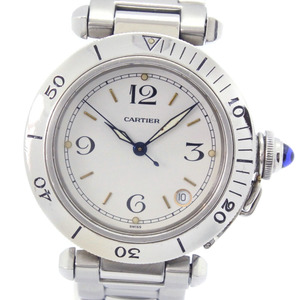 CARTIER Pasha 38 Stainless Steel Automatic Unisex Watch