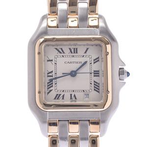 CARTIER Panthere 18K Gold Steel Quartz Ladies Watch