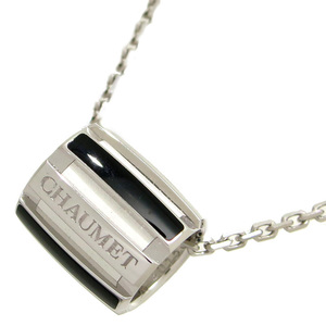 Chaumet Class One Ladies Necklace 750 White Gold Silver DH56805