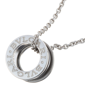 Bvlgari Save the Children Be Zero One Ladies Necklace 349634 Sterling Silver Black DH56760