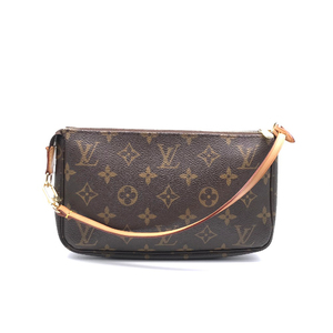 Louis Vuitton Pochette Accessoir Ladies Pouch M51980 Monogram Canvas Brown DH56734