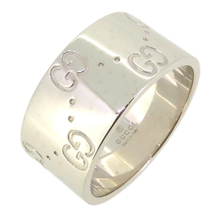 Gucci Icon Ladies Ring / 750 White Gold No. 12 DH56908