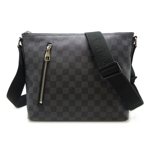 Louis Vuitton Mick PM Men's Shoulder Bag N41211 Damier Graphite Canvas Black DH56885