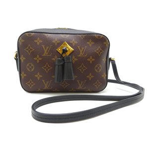 Louis Vuitton Santonge Ladies Shoulder Bag M43555 Monogram Canvas Brown DH56821
