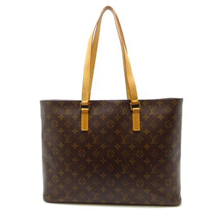 Louis Vuitton Ruco Ladies Shoulder Bag M51155 Monogram Canvas Brown DH56817