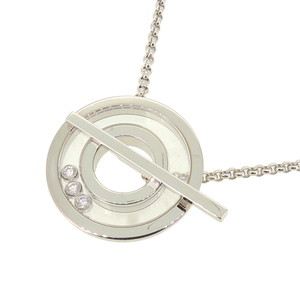 Chopard Happy Diamonds Ladies Necklace 750 White Gold DH56912