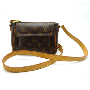 Louis Vuitton Viva Cite PM Ladies Shoulder Bag M51165 Monogram Canvas Brown DH56819