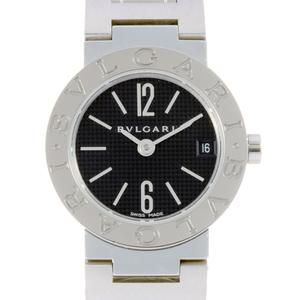 Bvlgari Ladies Watch BB23SS Stainless Steel Black Dial DH56695