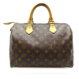Louis Vuitton Speedy 30 Women's Men's Handbag N41526 Monogram Canvas Brown DH56848