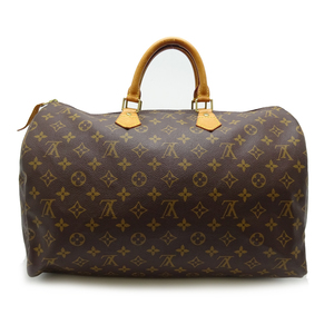 Louis Vuitton Speedy 40 Ladies Boston Bag M41522 Monogram Canvas Brown DH57032