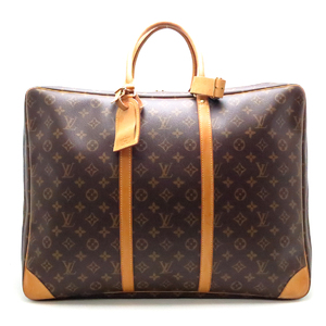 Louis Vuitton Sirius 50 Travel Bag Ladies Boston M41406 Monogram Canvas Brown DH48929