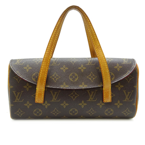 Louis Vuitton Sonatine Women's Handbag M51902 Monogram Canvas Brown DH57001