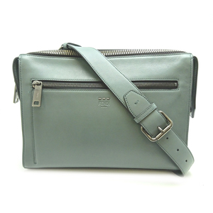 Fendi Celeria Messenger Bag Ladies Shoulder 7VA407-07B Leather Green DH57045